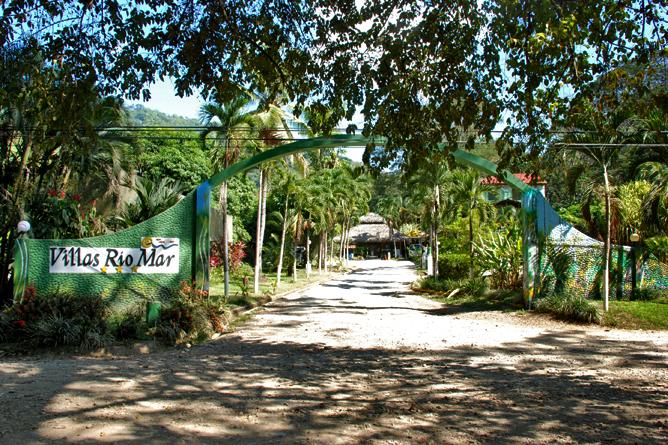 Villas Rio Mar – Eingang