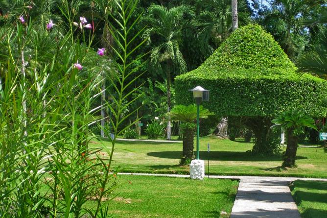 Villas Rio Mar – Gartenanlage
