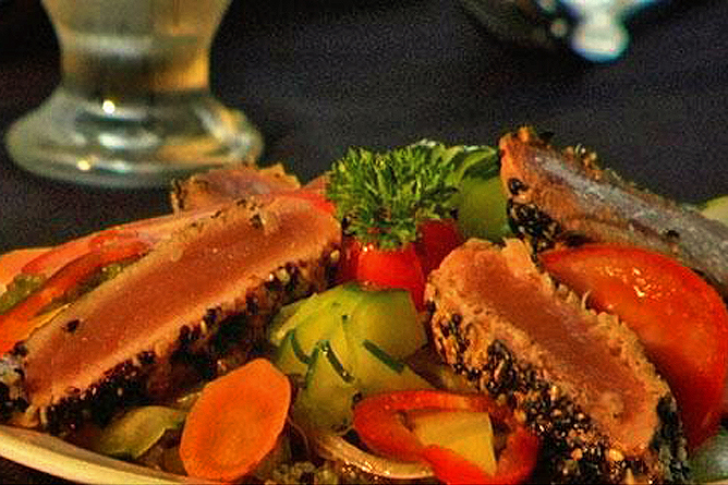 Villas Rio Mar – Gourmet-Teller