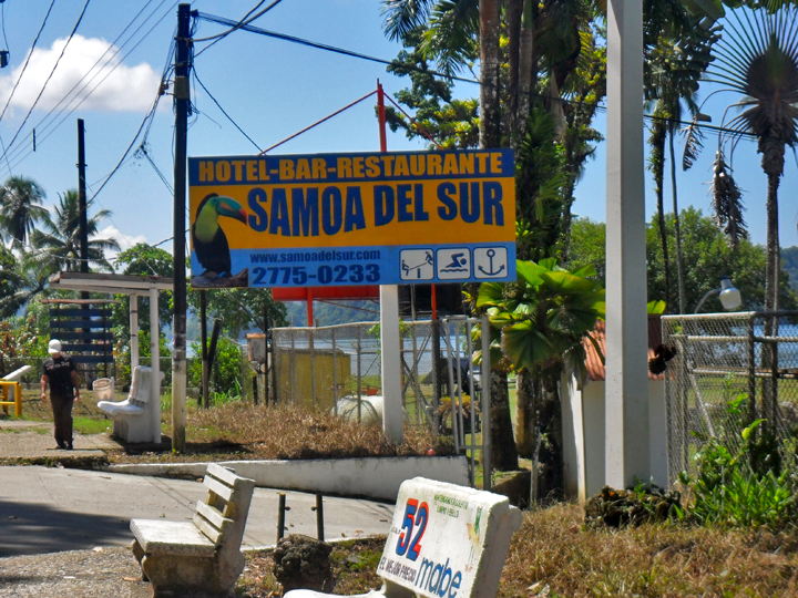 "Golfito – Hotel-Bar-Restaurant ""Samoa del Sur"""