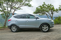 Hyundai Tucson- Adobe Rent-a-car Costa Rica