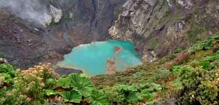 irazu-krater