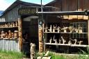 Kaffeewurzelschnitzer in Orosi