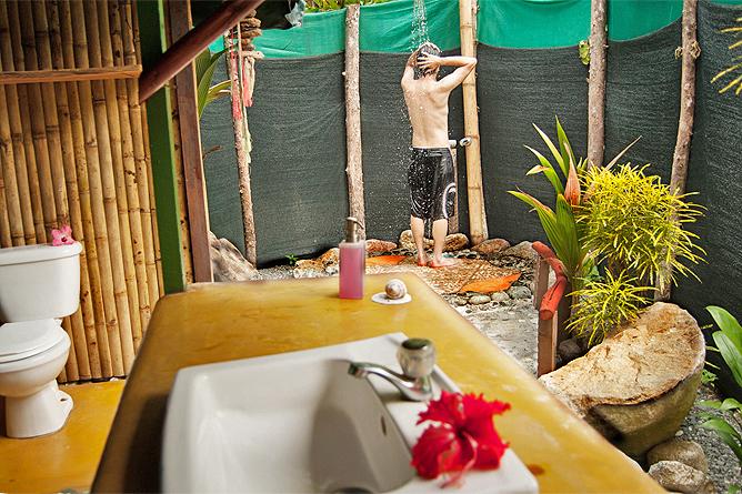 La Leona Lodge Badezimmer