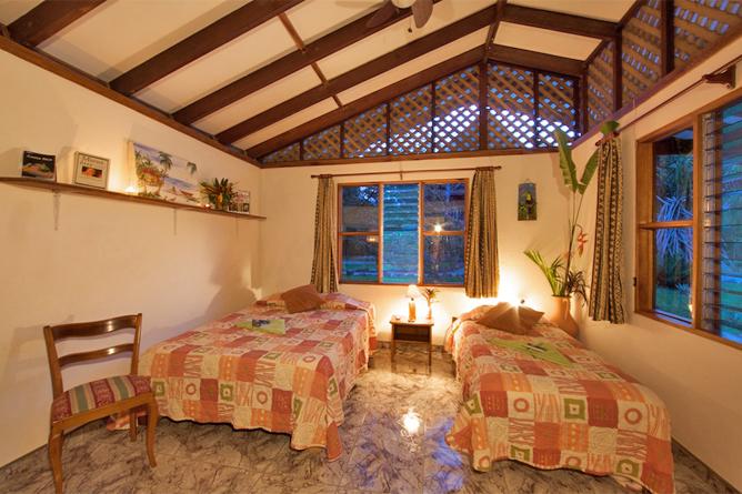 Suizo Loco Lodge Schlafzimmer