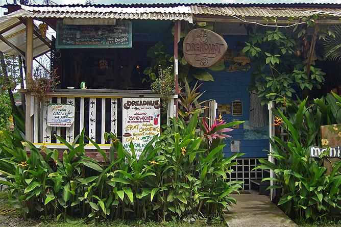 Dread Nut Café in Puerto Viejo, Costa Rica