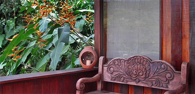 Arenal Kokoro – Familien-Bungalow: Terrasse