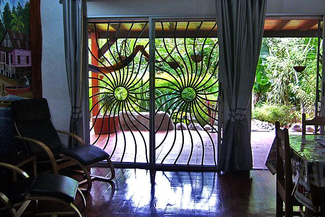 Casa Renada – Bungalow: Wohnbereich
