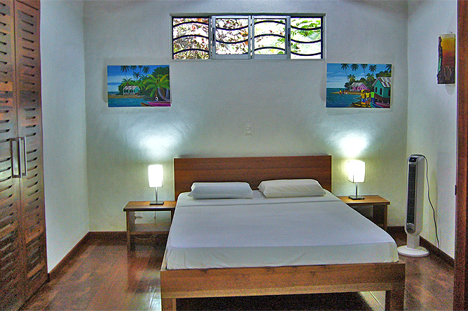Casa Renada – Bungalow: Doppelbett