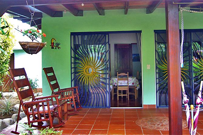 Casa Renada – Bungalow: Eingang