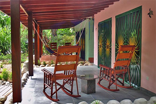 Casa Renada – Bungalow: Terrasse