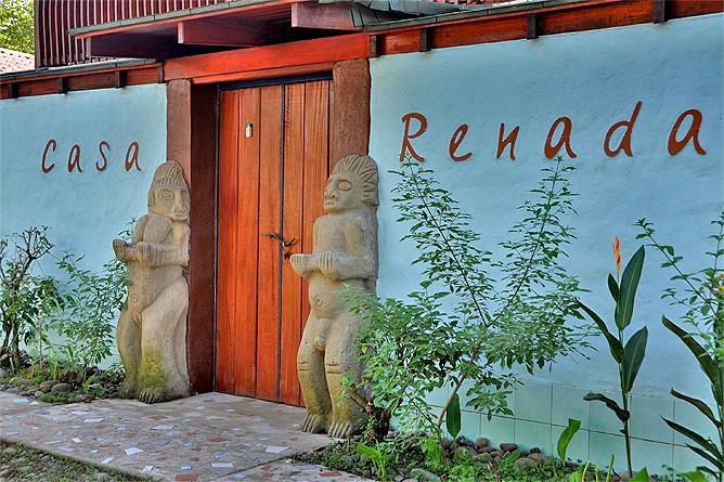 Casa Renada – Eingang