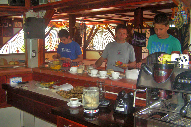 Casa Renada – Frühstück