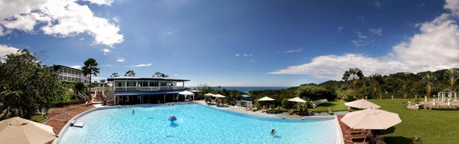 Cristal Ballena – Anlage mit Strandsicht in Uvita