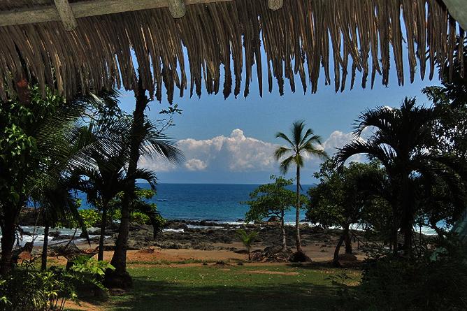 Corcovado Tent Camp – Blick auf den Strand