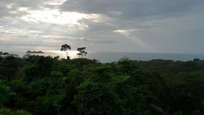 Cristal Ballena – Blick auf Insel