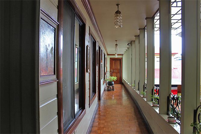 Don Carlos – Korridor: Gästezimmer