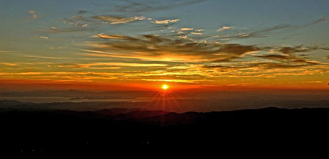 El Establo – Sonnenuntergang