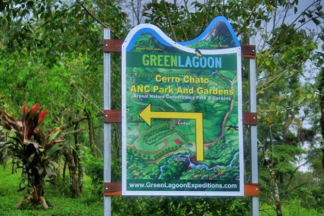 Green Lagoon – Wanderweg zum Cerro Chato