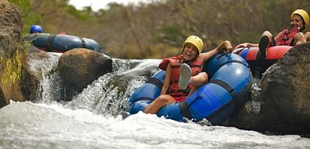 Hacienda-Guachipelin-Abenteuerpark-Tubing