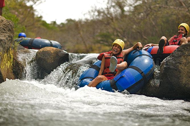 Hacienda Guachipelin – Abenteuerpark: Tubing