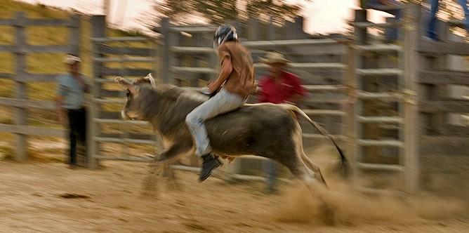 Hacienda-Guachipelin-Bullenreiten