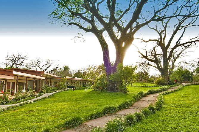 Hacienda Guachipelin – Gartenanlage