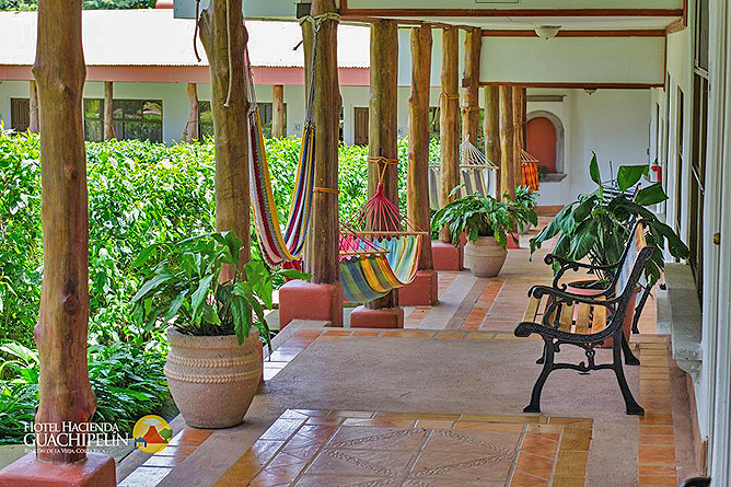 Hacienda Guachipelin – Superior-Zimmer: Korridor
