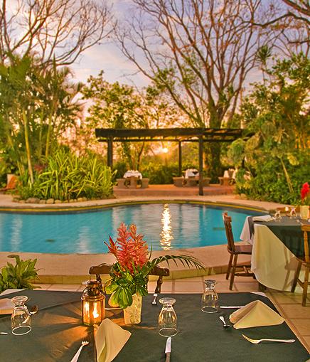 Hacienda Guachipelin – Swimmingpool
