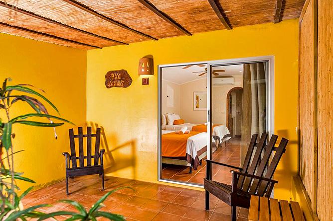 Pasatiempo Family Deluxe Zimmer mit Terrasse