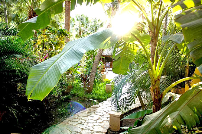 Pasatiempo Gartenanlage