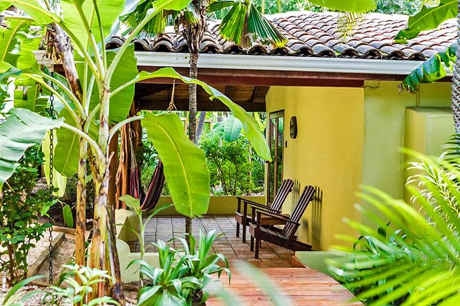Pasatiempo Standard Zimmer Terrasse