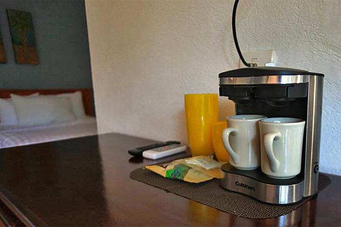 Rip Jack Inn – Kaffeemaschine in allen Zimmern