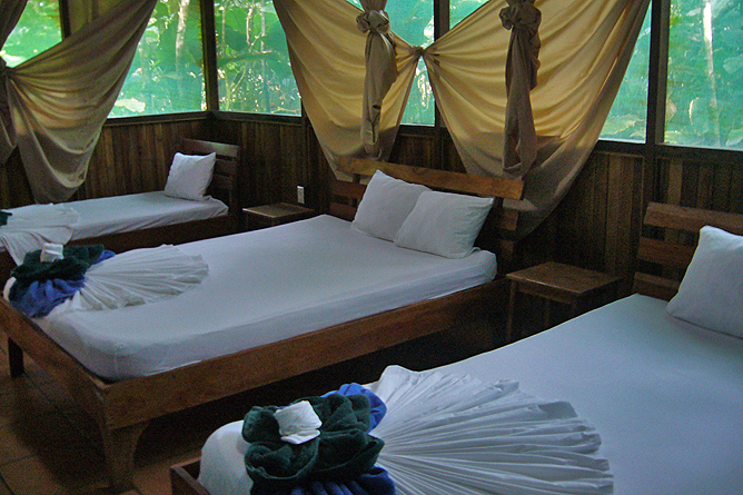 Turtle Beach Lodge – Gästezimmer mit Einzelbetten