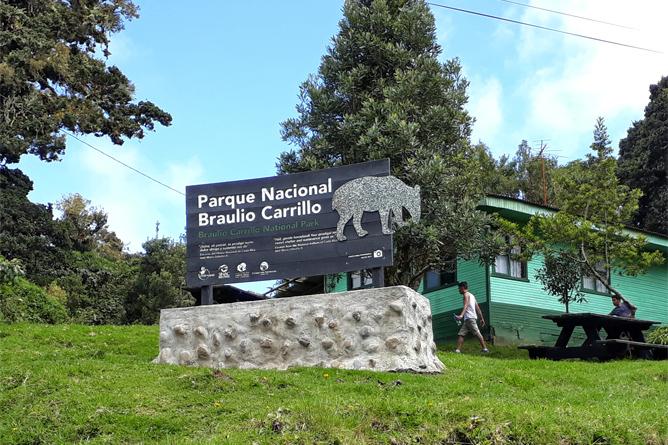 Braulio Carrillo Station Sektor Barva