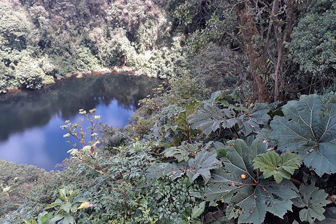Braulio Carrillo Vulkan Barva Kratersee