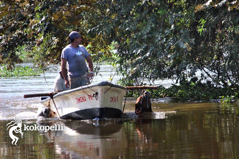 Kokopelli Bootstour Fluss  (Foto: Claudia Langguth)
