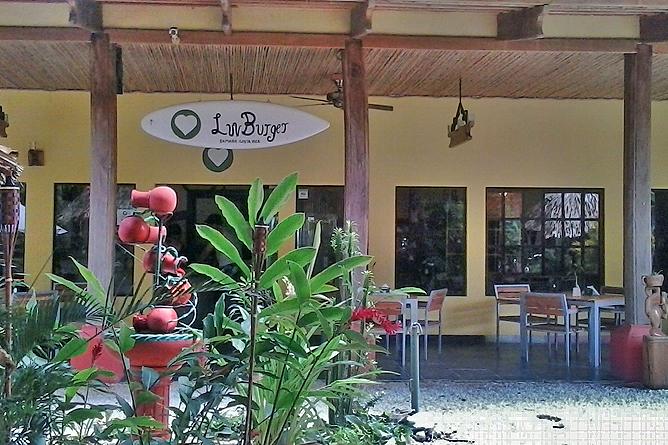 Luv Burger Restaurant in Puerto Viejo, Costa Rica