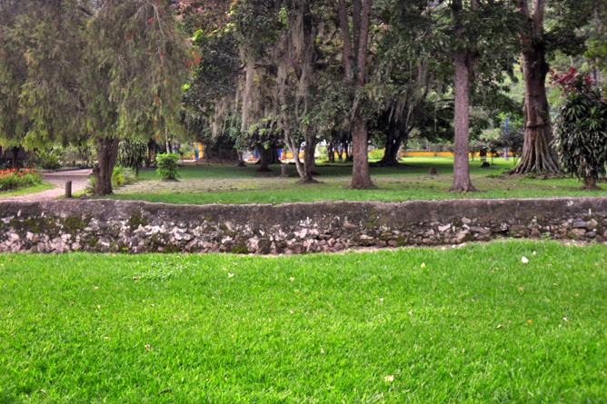 Ruinen von Ujarras bei Cartago, Costa Rica – Park