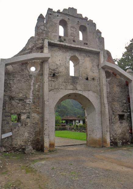 Ruinen von Ujarras bei Cartago, Costa Rica