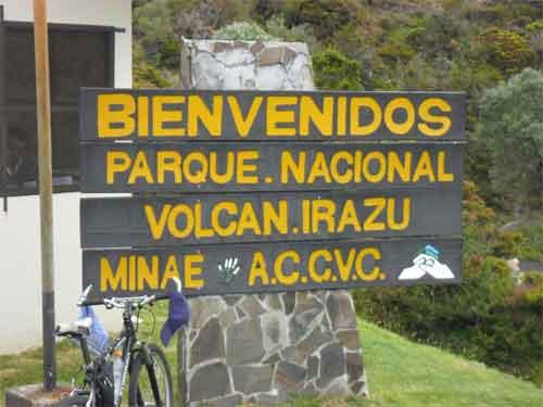 Vulkan Irazú – Willkommen