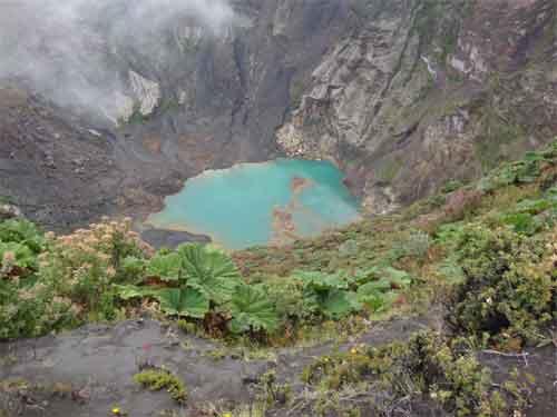 Vulkan Irazú – Kratersee