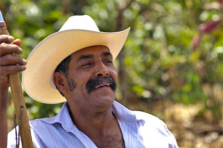 Mann in Costa Rica – pura vida