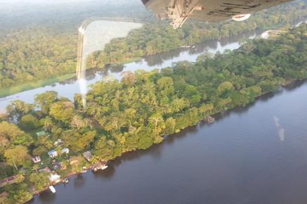 Caribbean Paradise – Luftaufnahme