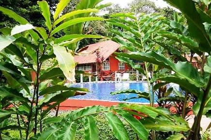 Caribbean Paradise – Swimmingpoolbereich