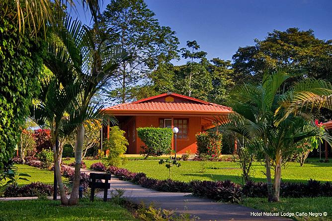 Natural Lodge Caño Negro – Garten