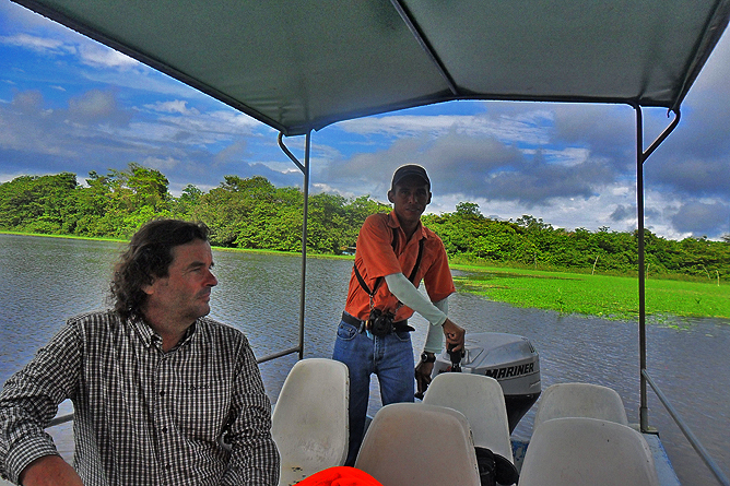 Natural Lodge Caño Negro – Flussfahrt mit Guide Jimmy