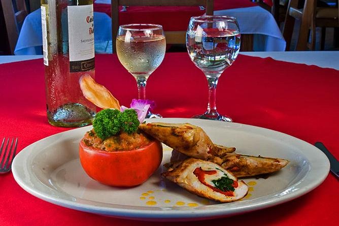"Natural Lodge Caño Negro – Restaurant ""Jabiru"", Hühnerfilet"
