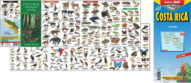 costa-rica-wildlife-guide-map