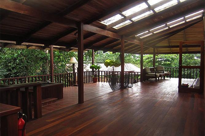 Finca Luna Nueva – Casa Luna: Terrasse im Obergeschoß